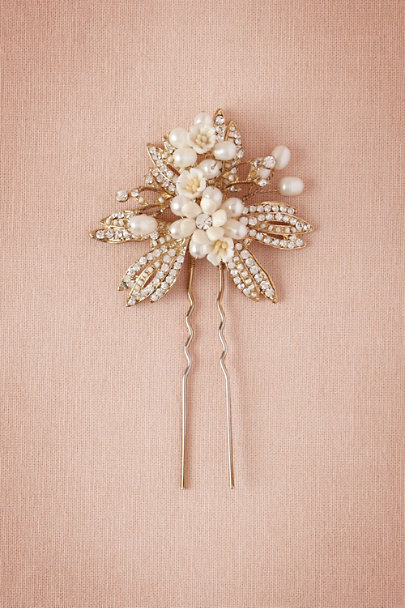 gold Nicobar Hairpin | BHLDN