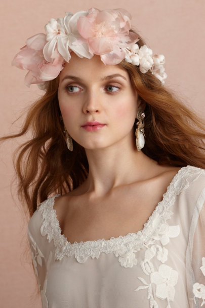 pink/rose Otherworldly Halo | BHLDN