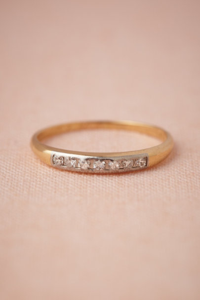 gold Pleiades Ring | BHLDN