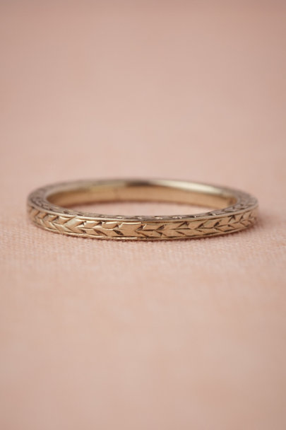 white gold Wild Emmer Ring | BHLDN