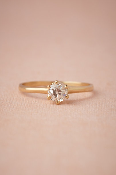 gold Time-Honored Ring | BHLDN