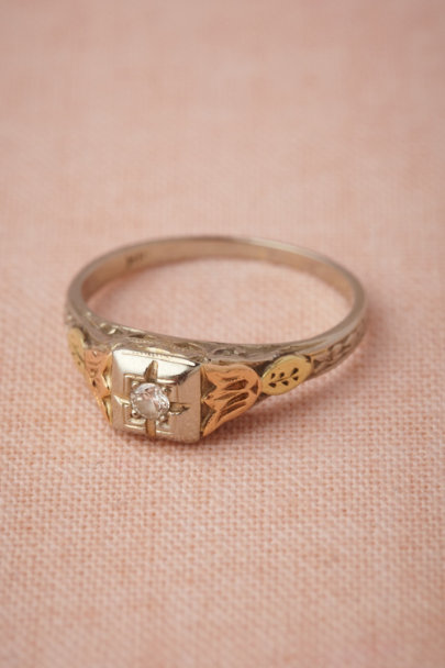 gold Zinaida Ring | BHLDN