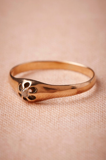 gold Phlox Ring | BHLDN
