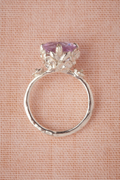 Nora Kogan silver Posy Ring | BHLDN