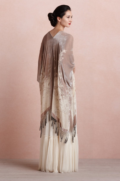 TAUPE Enfumé Wrap | BHLDN