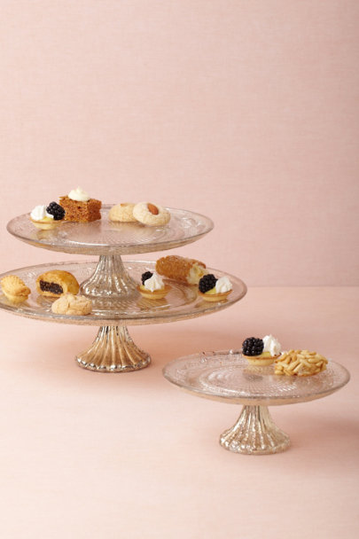 Quicksilver Cake Stands