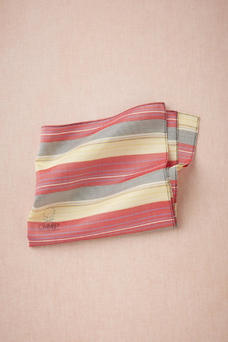 Popinjay Pocket Square