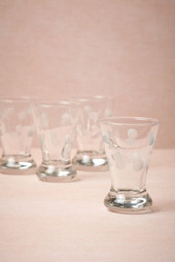 Droplets Shot Glasses (4)