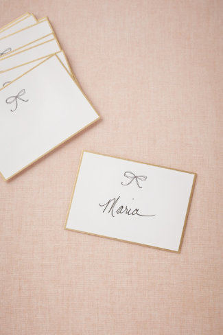 Bow Tie Place Cards (10)