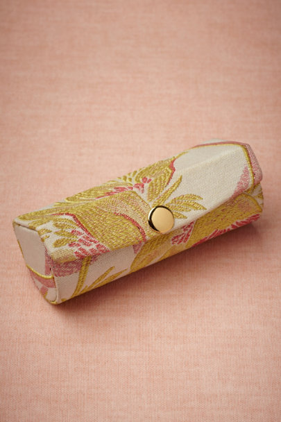 pink/citron Art Nouveau Lipstick Cases | BHLDN