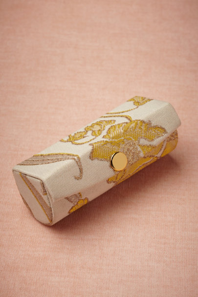 citron/ivory Art Nouveau Lipstick Cases | BHLDN