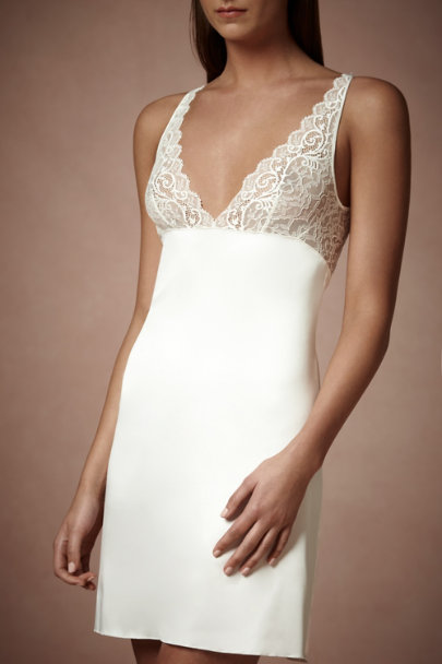 Ivory Chantilly Chemise | BHLDN