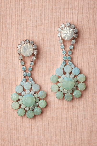 mint Perito Moreno Earrings | BHLDN