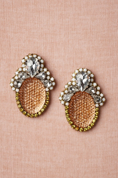 peach Westminster Earrings | BHLDN