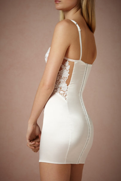 Ivory Maid of Orleans Slip | BHLDN
