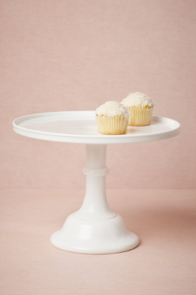 white Buttermilk Cake Stand | BHLDN
