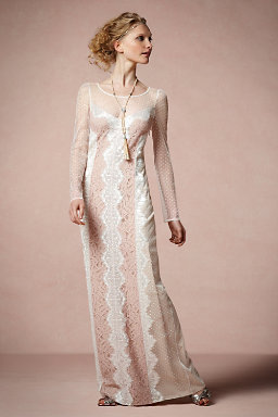 Lace Inlay Dress