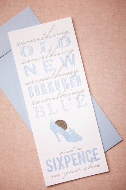 sky Sixpence Card | BHLDN