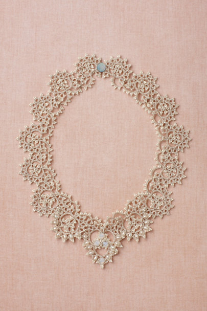 L'Orina ivory Curvature Necklace | BHLDN