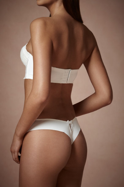 White Calyx Thong | BHLDN