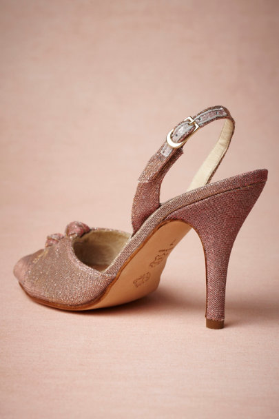 rose Sugar Plum Slingbacks | BHLDN
