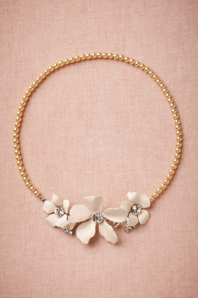 Debra Moreland pearl Floriculture Necklace | BHLDN