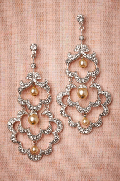 Debra Moreland silver Alcazar Earrings | BHLDN