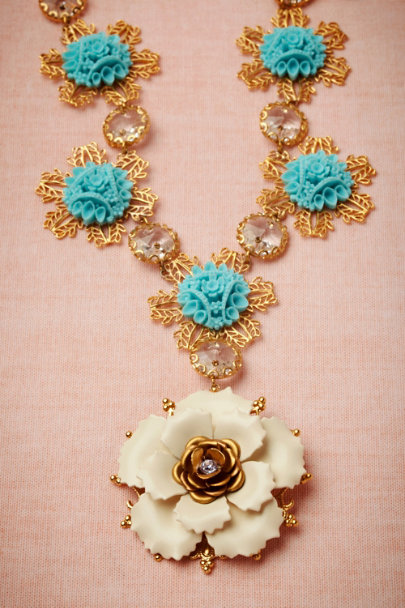 Debra Moreland blue Granted Wish Necklace | BHLDN