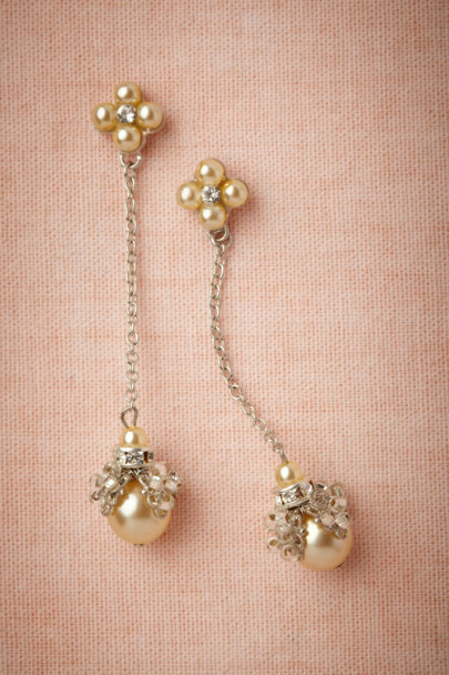 Debra Moreland silver Gooseberry Earrings | BHLDN