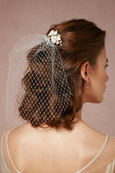 Debra Moreland ivory Hummingbird's Perch Comb | BHLDN