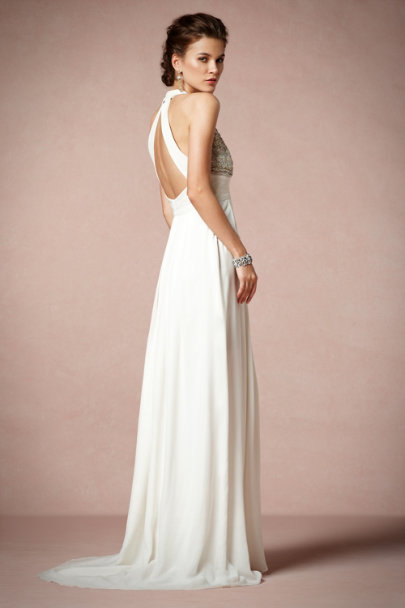 Ranna Gill ivory Isolde Gown | BHLDN