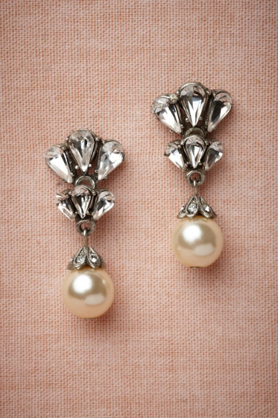 Ben-Amun Pearl Candela Earrings | BHLDN
