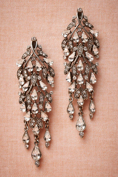 Ben-Amun silver Cristallino Earrings | BHLDN
