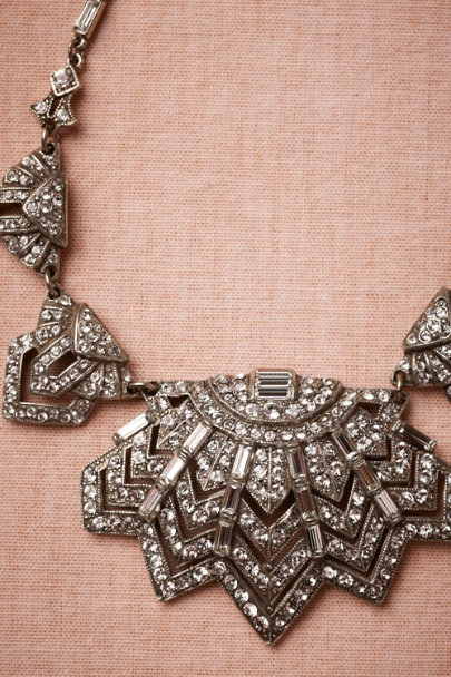 Ben-Amun silver Moderne Necklace | BHLDN