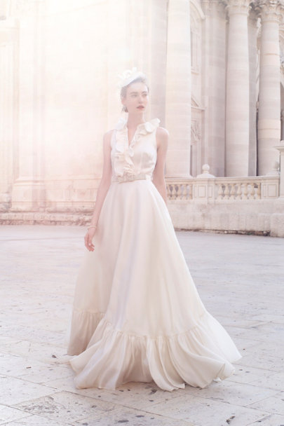 Fancy Bridal NY Ivory Caroline Gown | BHLDN