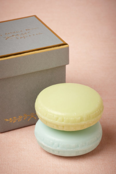 grey Macaron Soap Set (2) | BHLDN