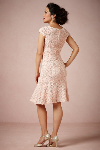 Badgley Mischka Rose Rose Cava Dress | BHLDN