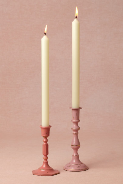 Rose Felicitous Candle Holders | BHLDN