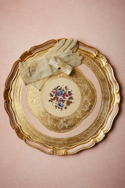 pink Firenze Tray | BHLDN