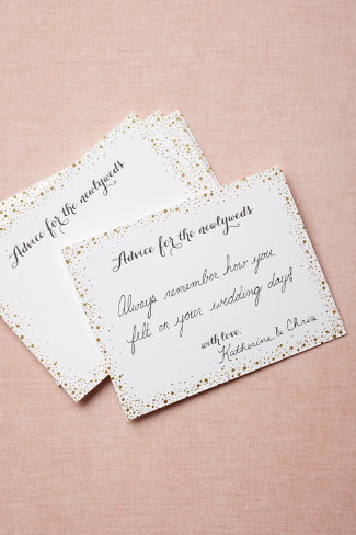 Confetti Advice Cards (10)