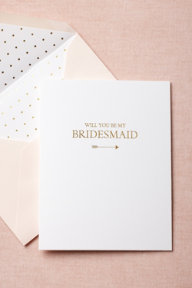 To-The-Heart Bridesmaid Card