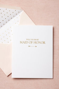To-The-Heart Maid of Honor Card