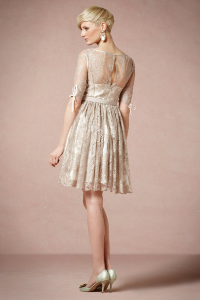 Taupe Tea Rose Dress | BHLDN