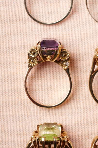 purple Dionysus Ring | BHLDN