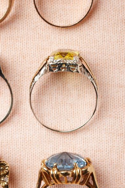 yellow Citrina Ring | BHLDN