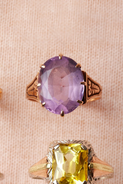 purple Late Eve Ring | BHLDN