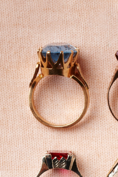 blue Crystalline Sky Ring | BHLDN