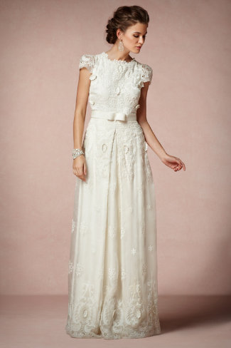 rococo gown in sale wedding dresses at bhldn. Black Bedroom Furniture Sets. Home Design Ideas