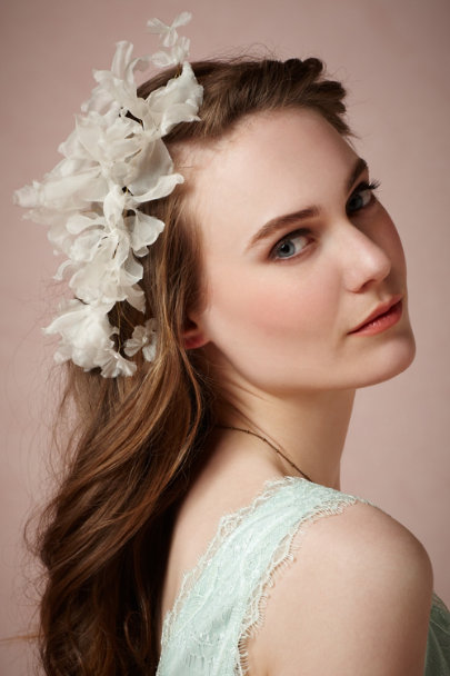 Twigs & Honey ivory Mandevilla Headband | BHLDN