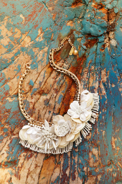 Botanical Bib Necklace